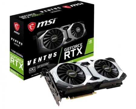 MSI nVidia GeForce RTX 2080 11GB 352bit RTX 2080 Ti VENTUS GP OC