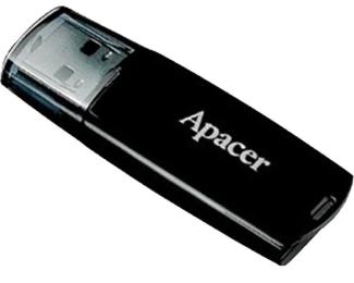 APACER 16GB AH322 USB 2.0 flash crni