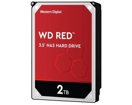 WD 2TB 3.5 SATA III 64MB IntelliPower WD20EFAX Red