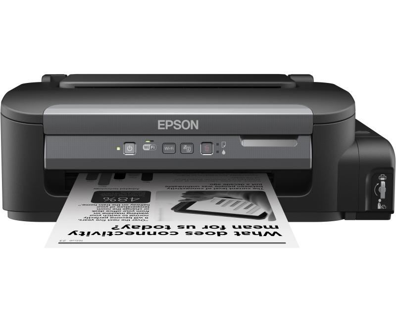 EPSON WorkForce M105 ITS/ciss wireless PROMO inkjet crno-beli štampač
