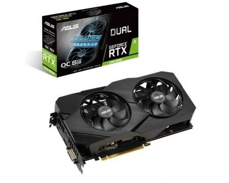 ASUS nVidia GeForce RTX 2060 8GB 256bit DUAL-RTX2060S-O8G-EVO-V2