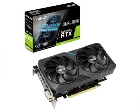 ASUS nVidia GeForce RTX 2070 8GB 256bit DUAL-RTX2070-O8G-MINI