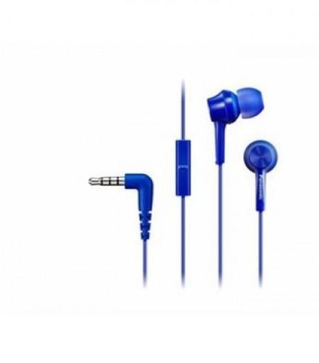 PANASONIC slušalice sa mikrofonom RP-TCM115E-A plave