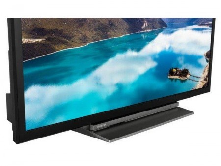 Toshiba 32WL3A63DG LED TV 32HD Ready, SMART, T2, BlackGray, Uni-stand