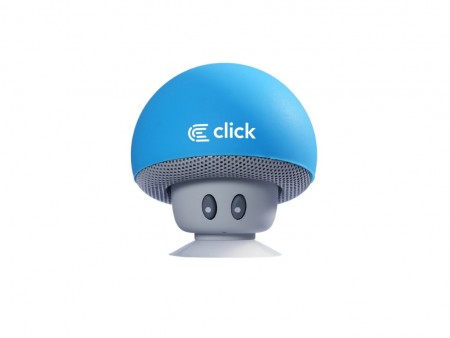 Click BS-R-M Zvučnik bluetooth Mushroom, plavi