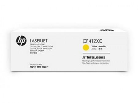 HP PPU Contractual High Yield Yellow LaserJet Toner Cartridge M452 / M477  (CF412XC)