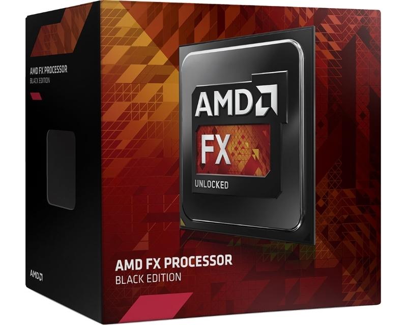 AMD FX-8300 8 cores 3.3GHz (4.2GHz) Black Edition Box