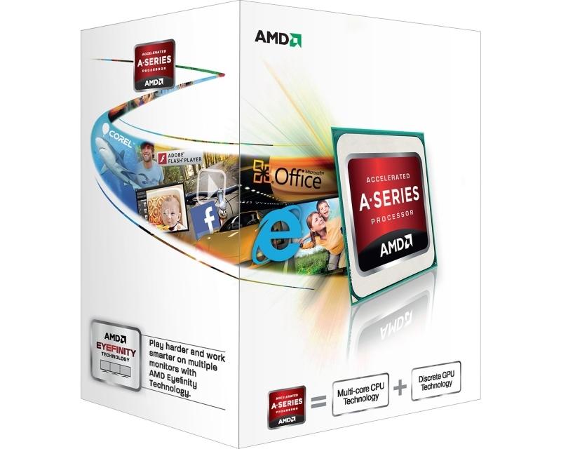 AMD A4-4020 2 cores 3.2GHz (3.4GHz) Radeon HD 7480D Box