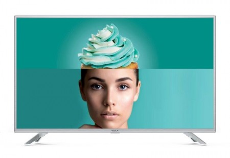 Tesla TV 32T303SHS, 32 TV LED, slim DLED, DVB-TT2C, HD Ready, Linux Smart, WiFi, silver