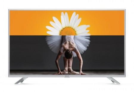 Tesla TV 32T303SH, 32 TV LED, slim DLED, DVB-TT2C, HD Ready, silver