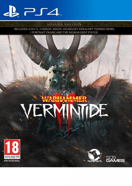 PS4 Warhammer - Vermintide 2 Deluxe edition (  )