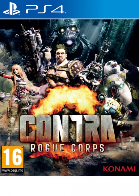 PS4 Contra – Rogue Corps (  )
