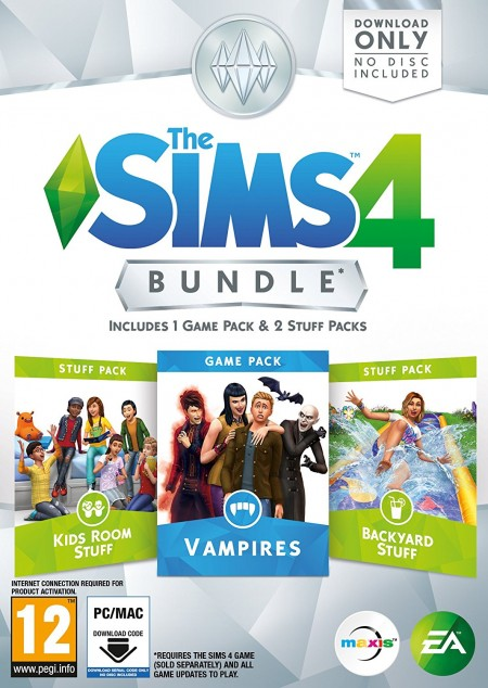 PC The Sims 4 Bundle Pack 7 (Code in a Box) (027652)