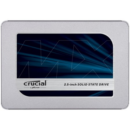CRUCIAL MX500 500GB SSD, 2.5 7mm (with 9.5mm adapter), SATA 6 Gbits, ReadWrite: 560 MBs  510 MBs, Random ReadWrite IOPS 95K90K ( CT500MX50