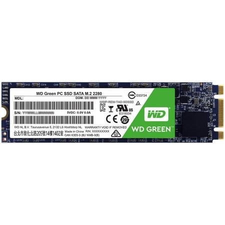 SSD WD Green (M.2, 120GB, SATA III 6 Gbs)