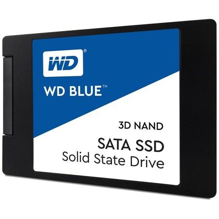 SSD WD Blue (2.5, 500GB, SATA III 6 Gbs, 3D NAND ReadWrite: 560  530 MBsec, Random ReadWrite IOPS 95K84K)