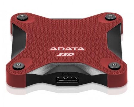 A-DATA 480GB ASD600Q-480GU31-CRD crveni eksterni SSD