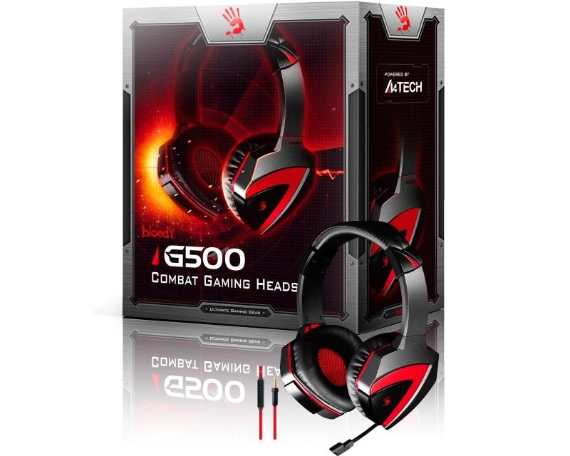 A4 TECH G500 Bloody Gaming slušalice sa mikrofonom