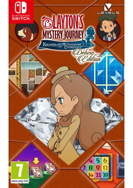 Switch Layton's Mystery Journey: Katrielle and the Millionaires' Conspiracy (  )