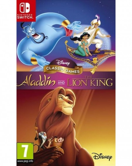 Switch Disney Classic Games: Aladdin and The Lion King (  )