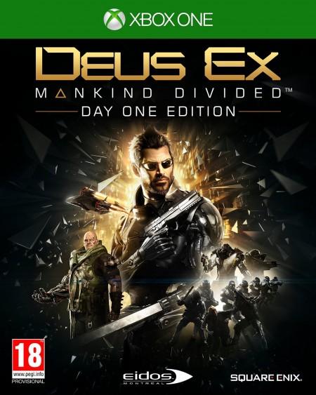 XBOXONE Deus Ex: Mankind Divided D1 Edition (026084)