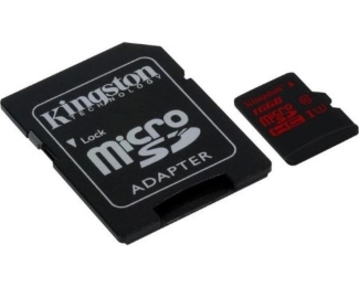 KINGSTON UHS-I U3 MicroSDHC 32GB + Adapter SDCA3/32GB