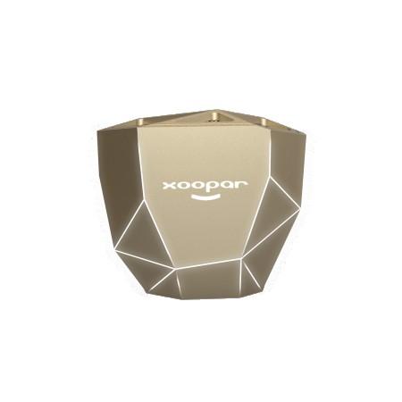 GEO SPEAKER - Bluetooth Speaker - Gold with White LED  ( XP81016.13WL )