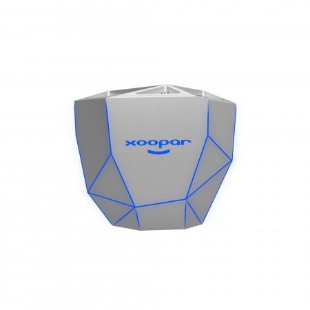 GEO SPEAKER - Bluetooth Speaker - Silver with Blue LED ( XP81016.12BL )