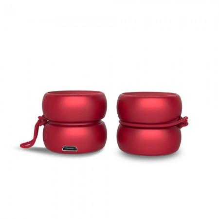 YOYO SPEAKER - Wireless Bluetooth Speakers - Stereo Red ( XP81024.15ST )