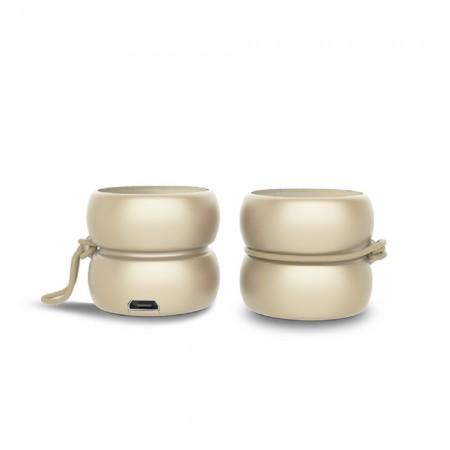YOYO SPEAKER - Wireless Bluetooth Speakers - Stereo Gold ( XP81024.13ST )