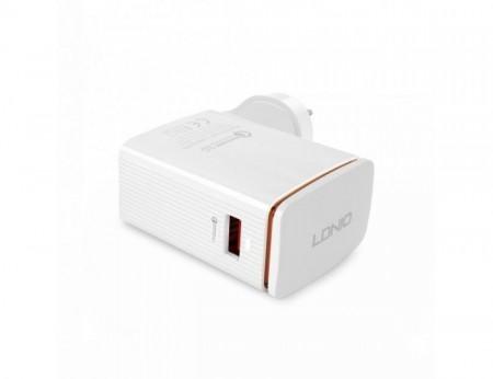 LDNIO USB  Charger QC 1 Port 6-12V/1.5-3A 18W  ( A1301Q )