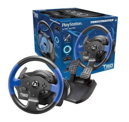 T150 RS Force Feedback Wheel PC/PS3/PS4 (025043)