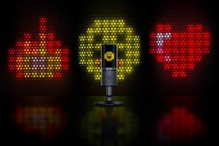 Seiren Emote - Microphone with Emoticons ( RZ19-03060100-R3M1 )