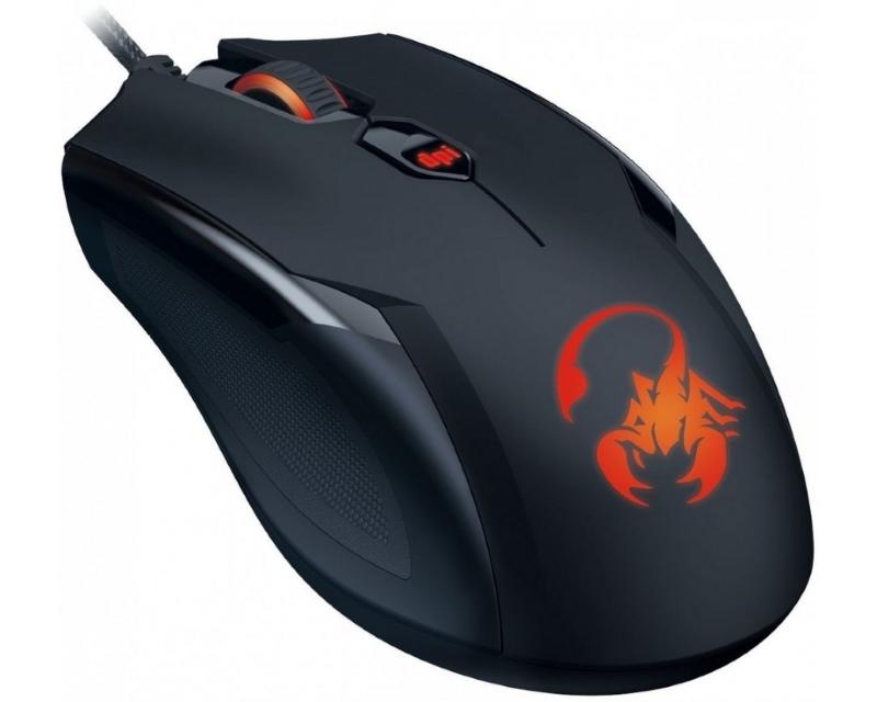 GENIUS AMMOX X1-400 Optical USB crni miš