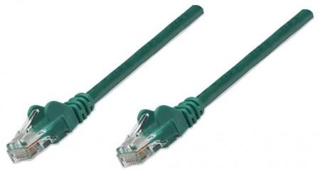 Intellinet prespojni mrežni kabel Cat.5e UTP PVC 0.5m zeleni
