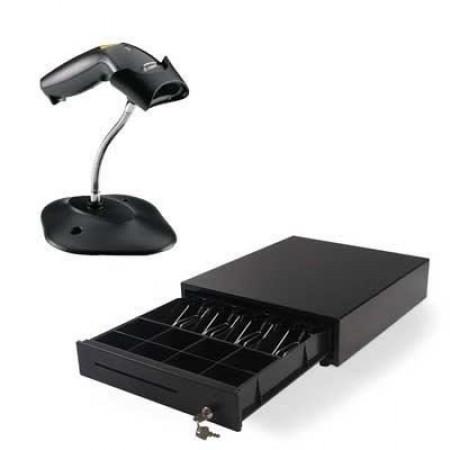 POS Kompet MS fioka i skener Zebra LS1203 USB