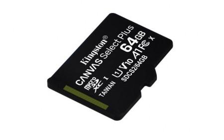 Memorijska kartica  Kingston SD MICRO 64GB Class 10 UHS-I Plus
