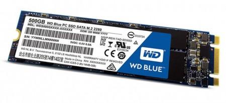 SSD M.2  500GB WD Blue 3D NAND WDS500G2B0B