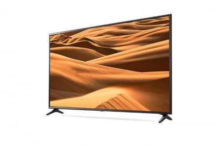 LG 49UM7050PLF LED TV 49 Ultra HD, WebOS ThinQ AI, CeramicBlack, Two pole stand