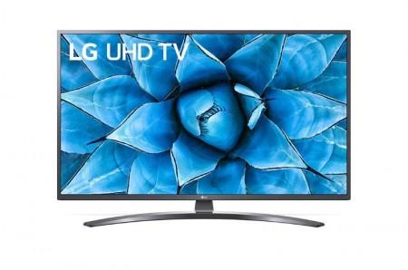 LG 55UN74003LB LED TV 55 Ultra HD, WebOS ThinQ AI, Iron Gray, Crescent stand, Magic remote