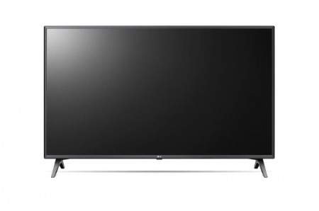 LG 55UN80003LA LED TV 55 Ultra HD, WebOS ThinQ AI, Rocky Black, Two pole stand, Magic remote