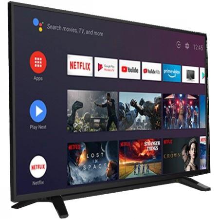 Toshiba 65UA2063DG LED TV 65, Ultra HD, ANDROID TV, DVB-T2CS2, black, two pole stand