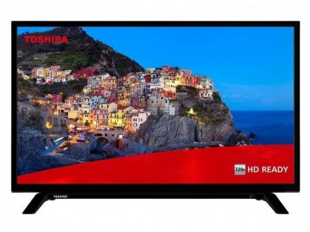 Toshiba 32WL1A63DG LED TV 32HD Ready, DVB-T2, black, Two-pole stand