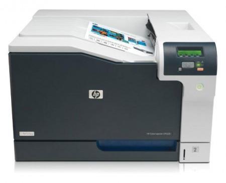 HP Color Laserjet Professional CP5225n Printer, A3, LAN' ( 'CE711A' )