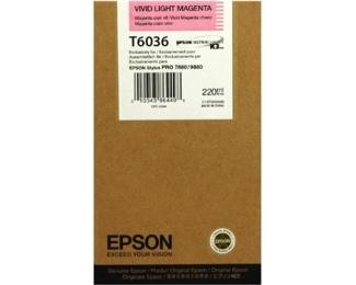 EPSON T6036 vivid light magenta kertridž