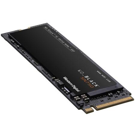 SSD WD Black (M.2 NVMe, 500GB, PCIe Gen3 8 Gbs) ( WDS500G3X0C )