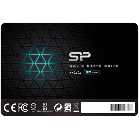 SILICON POWER Ace A55 1TB SSD, 2.5 7mm, SATA 6Gbs, ReadWrite: 560  530 MBs ( SP001TBSS3A55S25 )