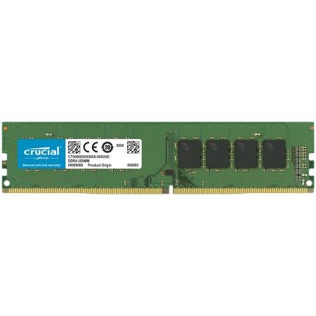 Crucial DRAM 8GB DDR4-2666 UDIMM, EAN: 649528903501 ( CT8G4DFRA266 )