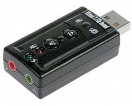 E-GREEN USB virtual 7.1 zvučna karta