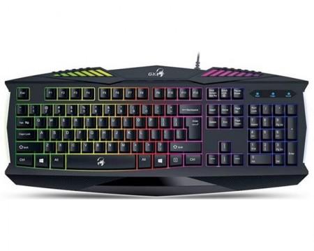 GENIUS K220 Scorpion Gaming USB YU crna tastatura